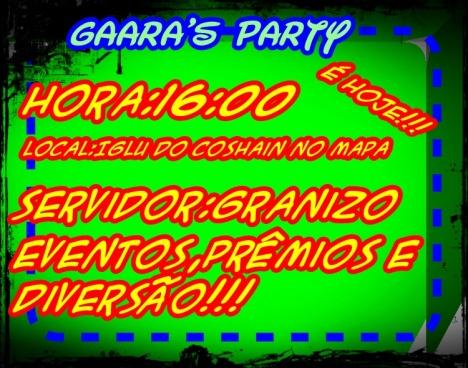 Convite gaara152